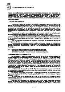 - 1 - AYUNTAMIENTO DE GUADALAJARA
