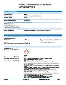 : AIRAID Filter Cleaner-24 oz.-dry Media