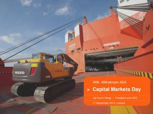 > Capital Markets Day