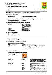 : COMPO Fungicida Huerto y Frutales