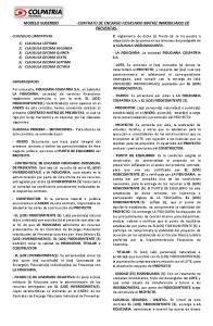 -CONTRATO DE ENCARGO FIDUCIARIO MATRIZ INMOBILIARIO DE PREVENTAS-
