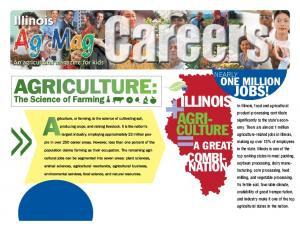 = CULTURE AGRI- JOBS! COMBI- NATION ONE MILLION A GREAT. The Science of Farming NEARLY