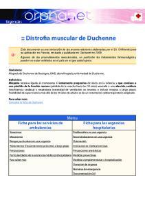 :: Distrofia muscular de Duchenne