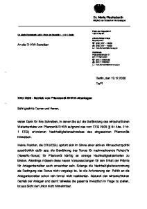 } Dr. Maria Flachsbarth Mitglied des Deutschen Bundestages