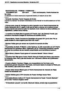 - Fernando Aramburu, Premio Tusquets de Novela El jurado ha valorado