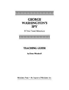 ************************** GEORGE WASHINGTON S SPY *********************
