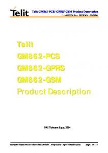 -GSM Product Description
