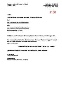 - III C - Telefon (intern) Fax (intern)