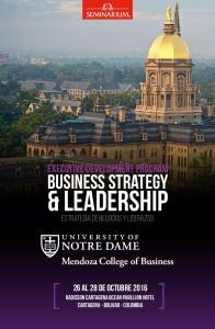 & leadership. business strategy. Executive Development Program