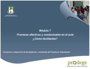 - Manual del Participante -