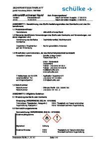 : mikrozid universal liquid