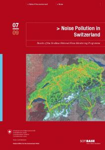 > Noise Pollution in Switzerland