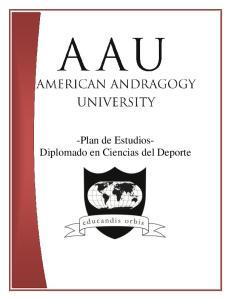 -Plan de Estudios- Diplomado en Ciencias del Deporte