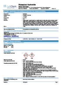 : Potassium Hydroxide