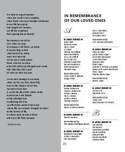 - Richard Levy. Jerry Alexander Joshua Katri Fortunee Katri. Remembered by. Al & Norma Alexander. Jake Abbit Rebecca Abbit Harry Abbit