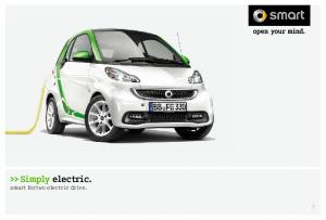 >> Simply electric. smart fortwo electric drive