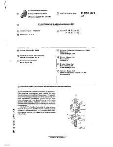 00. (71) Anmelder: Fa Karcher Schraubenwerke GmbH Talstrasse 3 D-6645 Beckingen KDE)