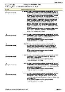 :00 Por Cuenta y Orden de: DIRECCION GENERAL DE ADUANAS