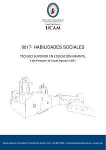 0017- HABILIDADES SOCIALES