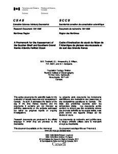 002. M.K. Trzcinski, S.L. Armsworthy, S. Wilson, R.K. Mohn, and S.E