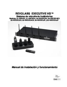 01-HDEXEC4, 03-HDEXECEU, 03-HDEXEC4EU 03-HDEXECCN, 03-HDEXEC4CN, 03-HDEXECJP