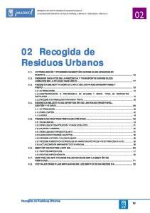 02 Recogida de Residuos Urbanos