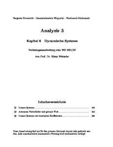 02. von Prof. Dr. Klaus Fritzsche. Inhaltsverzeichnis