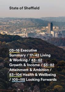 03 16 Executive Summary Living & Working 21 Population Growth 24 People & Places 32 Sheffield at Work 36 Working in the Sheffield City Region