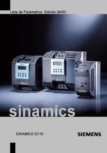 03. sinamics SINAMICS G110