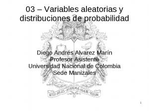 03 Variables aleatorias y distribuciones de probabilidad