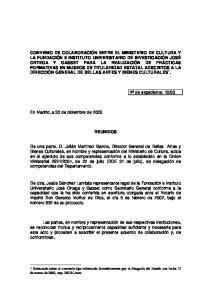 05. En Madrid, a 30 de diciembre de 2005 REUNIDOS