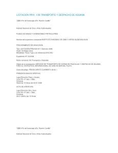 06 TRANSPORTE Y DESPACHO DE ADUANA