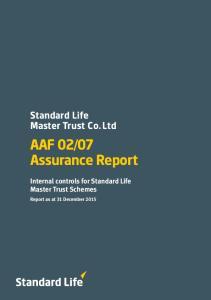 07 Assurance Report