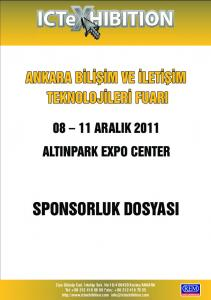 08 11 ARALIK 2011 ALTINPARK EXPO CENTER SPONSORLUK DOSYASI