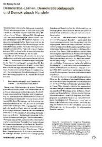 08. I nden Debatten von politischer Bildung und wissenschaftlicher