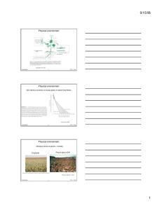 08. Physical environment. Physical environment. Physical environment. Soil moisture controls on woody plants in desert Southwest