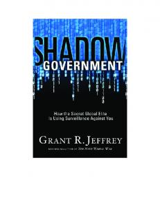 09 1:31 PM Page i SHADOW GOVERNMENT