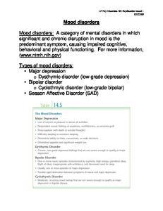 09. Mood disorders