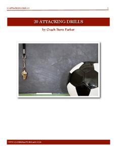 1 20 ATTACKING DRILLS