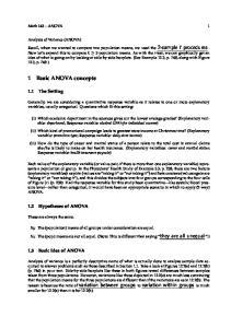 1 Basic ANOVA concepts