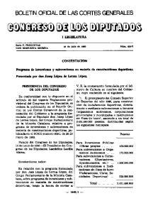 1 - BOLETIN OFICIAL DE LAS CORTES GENERALES