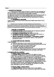 1. CONCEPTO DE DERECHO