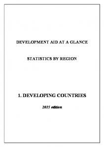 1. DEVELOPING COUNTRIES