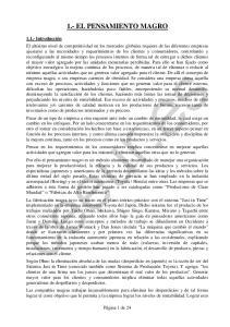 1.- EL PENSAMIENTO MAGRO
