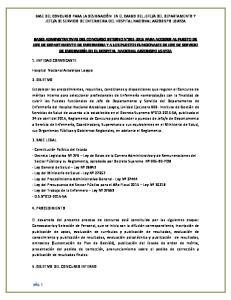 1. ENTIDAD CONVOCANTE. Hospital Nacional Arzobispo Loayza 2. OBJETIVO