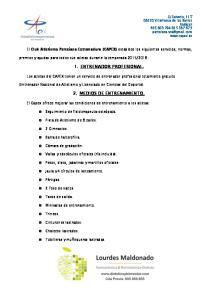 1. ENTRENADOR PROFESIONAL. 2. MEDIOS DE ENTRENAMIENTO