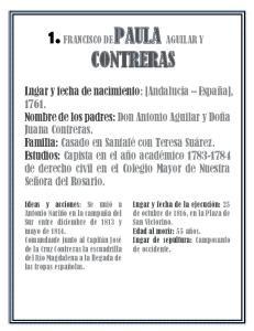 1. FRANCISCO DE PAULA AGUILAR Y CONTRERAS