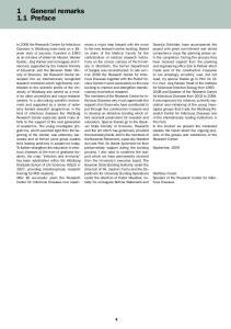 1 General remarks 1.1 Preface