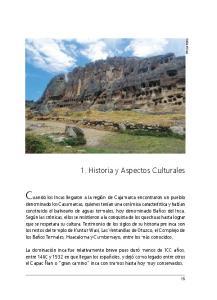 1. Historia y Aspectos Culturales