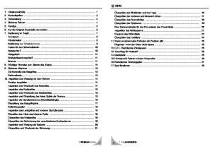 1. Inhaltverzeichnis. 1. Inhaltverzeichnis 1